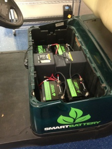 Commercial Use cost savings for Electric Golf Carts