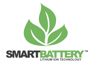 Smart Battery 12V Lithium Ion Battery Logo