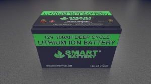 12V 100AH Lithium Ion Marine Battery