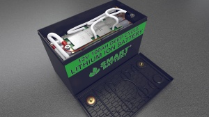 12V 100AH Smart Battery Lithium Ion Battery