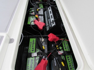 2015 Ranger Z520C Boat with 12V Lithium Ion Batteries from Smart Battery