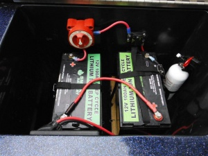 12V Lithium Ion Battery for boat