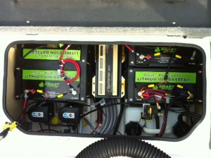 12V Lithium Ion Battery for Marine