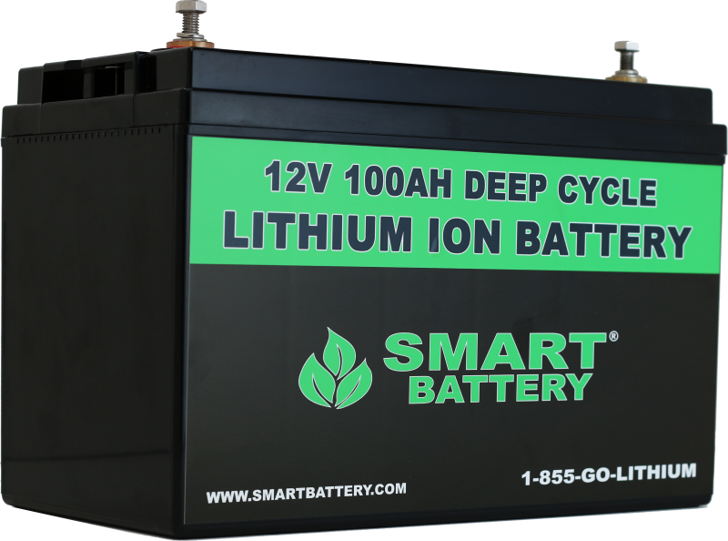 12v 100ah Deep Cycle Lithium Ion Battery