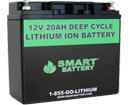 12V 20AH Lithium Ion Battery