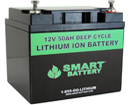 12V 50AH Lithium Ion Marine Battery