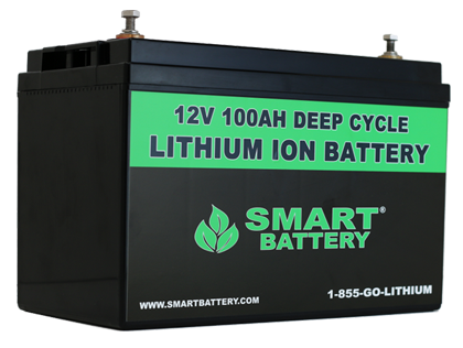 smart battery 12v lithium batteries for rv marine and automotive. Black Bedroom Furniture Sets. Home Design Ideas