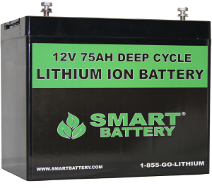 12V 75AH Lithium RV Battery
