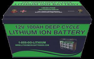 12V 100AH Lithium Battery Deep Cycle