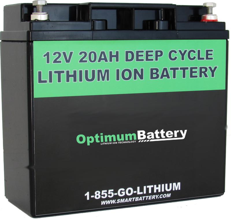 12V 20AH Lithium Ion Battery