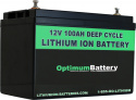 48V 100AH Lithium Battery Kit