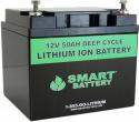 12V 50AH Lithium Ion Battery