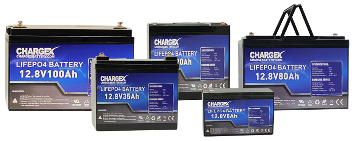 Chargex Lithium Batteries
