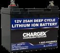 12V 25AH Lithium Ion Battery