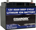 12V 40AH Lithium Ion Battery