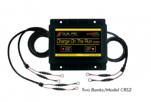 Dual Bank DC to DC Charger - DP-CRS2 - Pro Charging Systems - 12V 50AH Lithium Ion Battery | Lithium Ion Battery | Deep Cycle | Starting