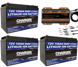 36V 100 AH Lithium Ion Battery Kit Deep Cycle Starting Marine golf cart RV solar Cold Cranking Amps CCA