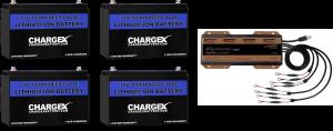 48V 100AH Lithium Battery Kit