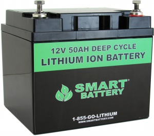 48V 50 AH Lithium Ion Battery | Deep Cycle Lithium Ion Battery | Smart Battery