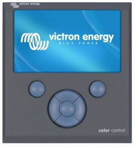 Victron Color Control Monitor GX - Victron Color Control Monitor GX - Victron Energy - Lithium Ion Solar Charge Controllers - Lithium Ion Battery Chargers  | Lithium Ion Battery Accessories