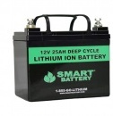 12V 25AH Lithium Ion Battery - Optimum Battery - RV Lithium Batteries