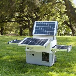 Lithium Powered Solar Generator - Solar Generator - Lithium Ion Battery Chargers  | Lithium Ion Battery Accessories | Smart Battery