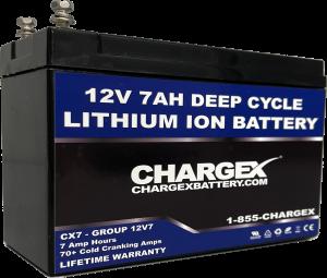 12V 7AH Deep Cycle Lithium Ion Battery
