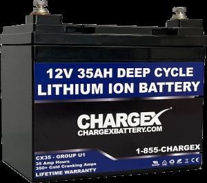 12V 35AH Deep Cycle Lithium Ion Battery