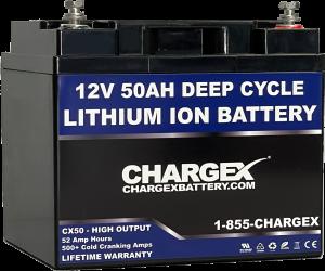 12V 50AH Deep Cycle Lithium Ion Battery
