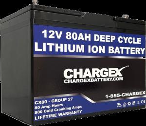 12V 80AH Deep Cycle Lithium Ion Battery