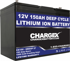 12V 150AH Deep Cycle Lithium Ion Battery Starting Marine RV Golf