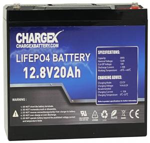 12V 20AH Lithium Battery
