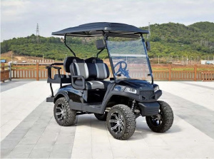CXEV4X$ - Lifted Street Legal Golf Cart