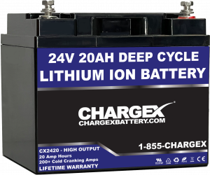 24v 20AH Lithium Ion Battery