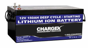 12V 150AH Deep Cycle Lithium Ion Battery Group 4d