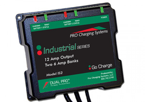 IS1 12V 6A Industrial Lithium Ion Battery Charger