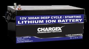 12V 300AH Group 8D Lithium Ion Battery Deep Cycle Marie RV Golf Cart