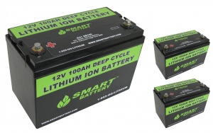 36V 100AH Lithium Ion Battery