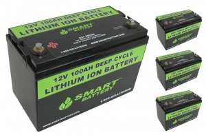 48V 100AH Lithium Ion Battery