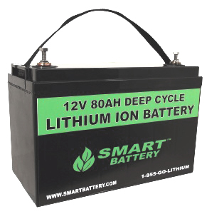 12V 80 AH Lithium Ion Battery | Deep Cycle Lithium Ion Battery | Smart Battery